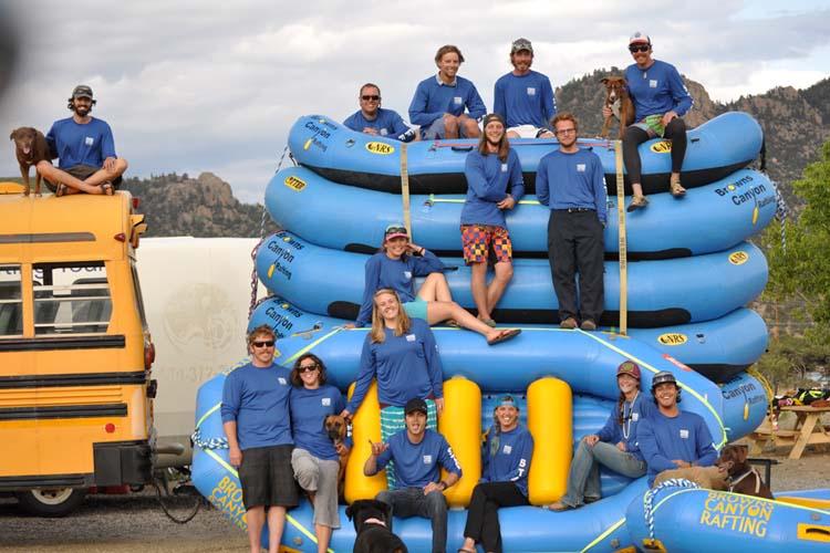Colorado Rafting Jobs, Buena Vista Rafting