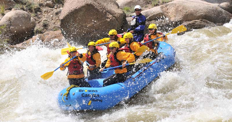 Numbers Half Day, Arkansas River Rafting Trips