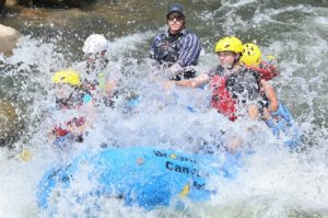 White water rafting Browns Canyon Buena Vista Colorado