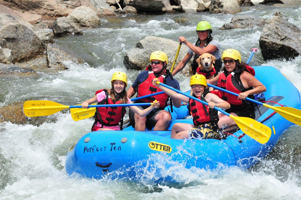 Buena Vista River Rafting, Colorado White Water Rafting