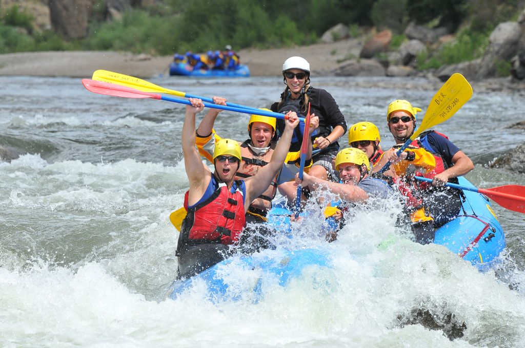Buena Vista River Rafting, Browns Canyon Rafting Full Day