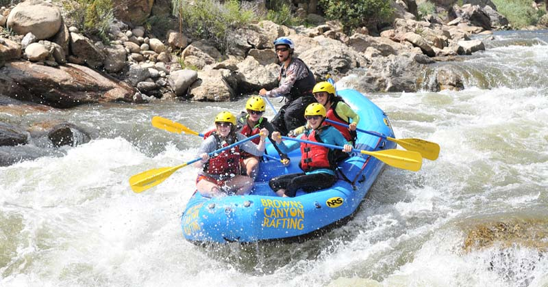 Colorado ATV Tours, White Water Rafting Arkansas River