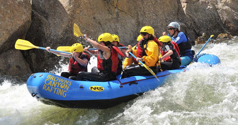 Colorado Ziplining, Arkansas River Whitewater Rafting