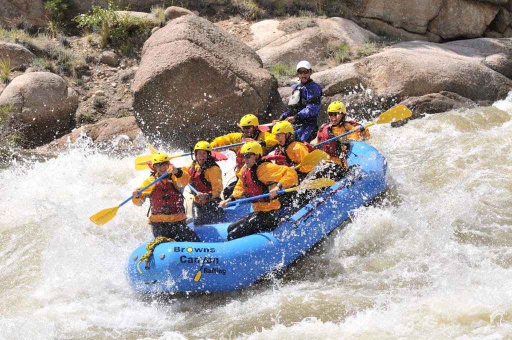 The Numbers Arkansas River, Colorado White Water Rafting