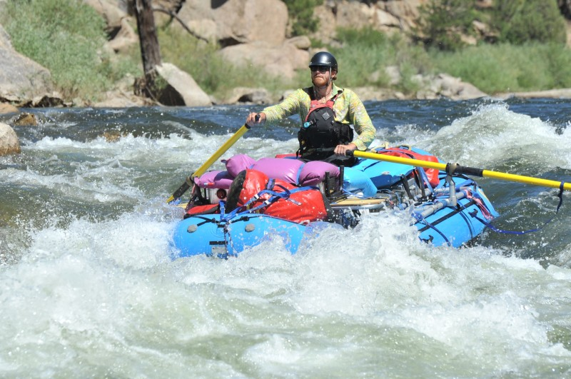 Colorado White Water Rafting, Arkansas River Overnight Rafting