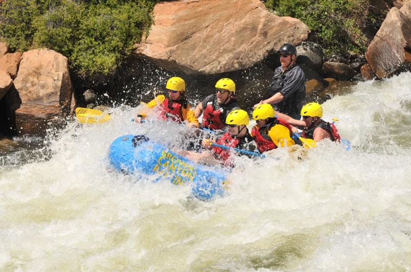 The Numbers Arkansas River, Clear Creek Rafting