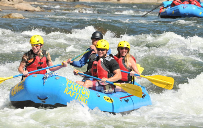 Multi day rafting trip in Browns Canyon National Monument Arkansas River Colorado