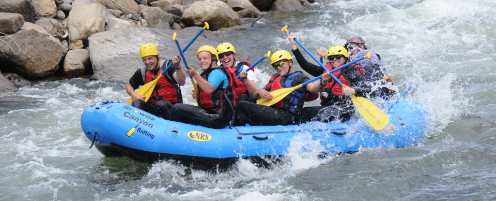 Corporate team building activity Colorado Arkansas River