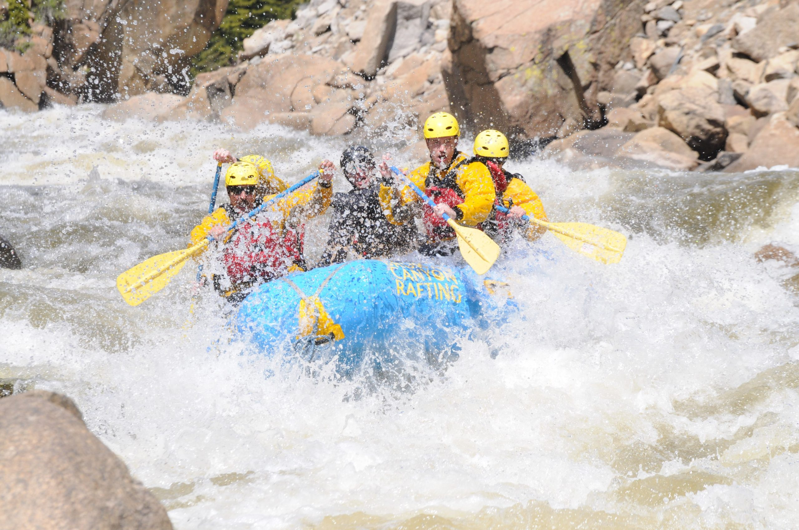 Advanced white water rafting colorado