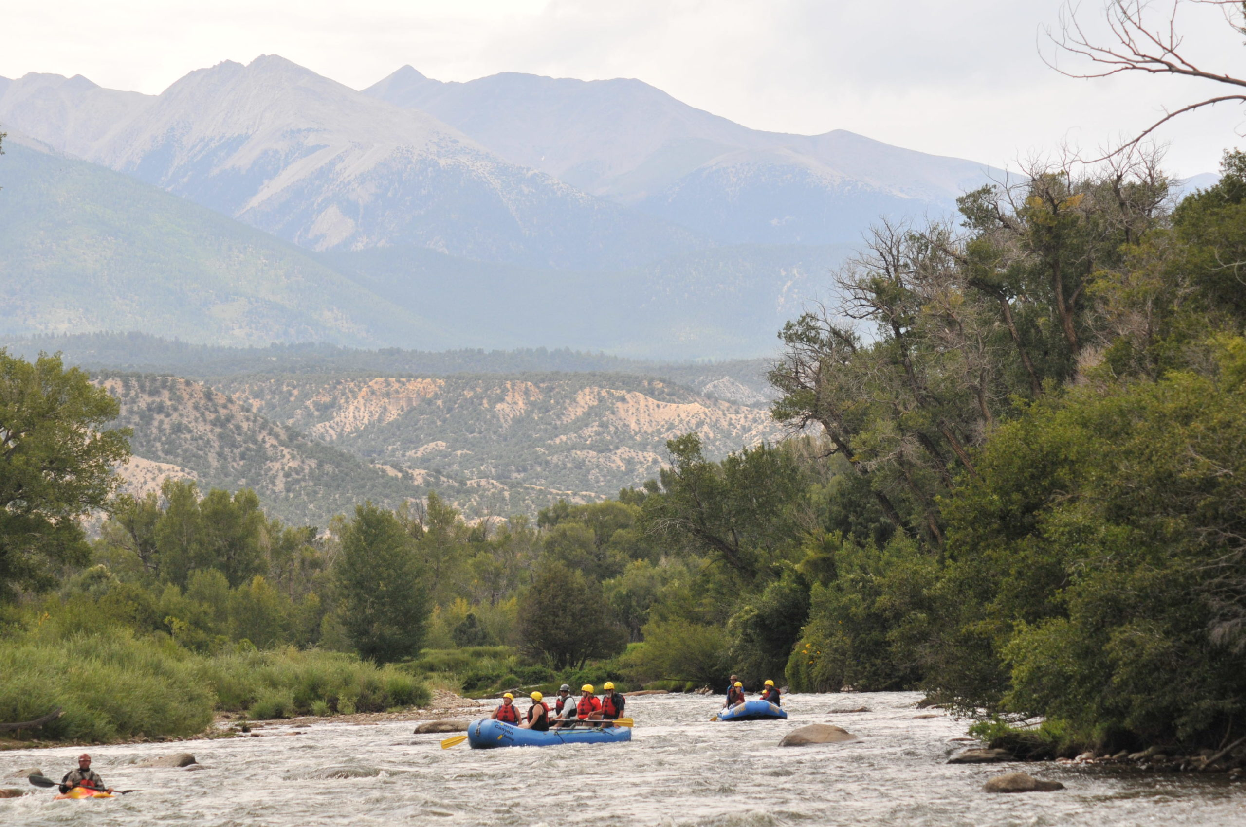 scenic river rafting colorado