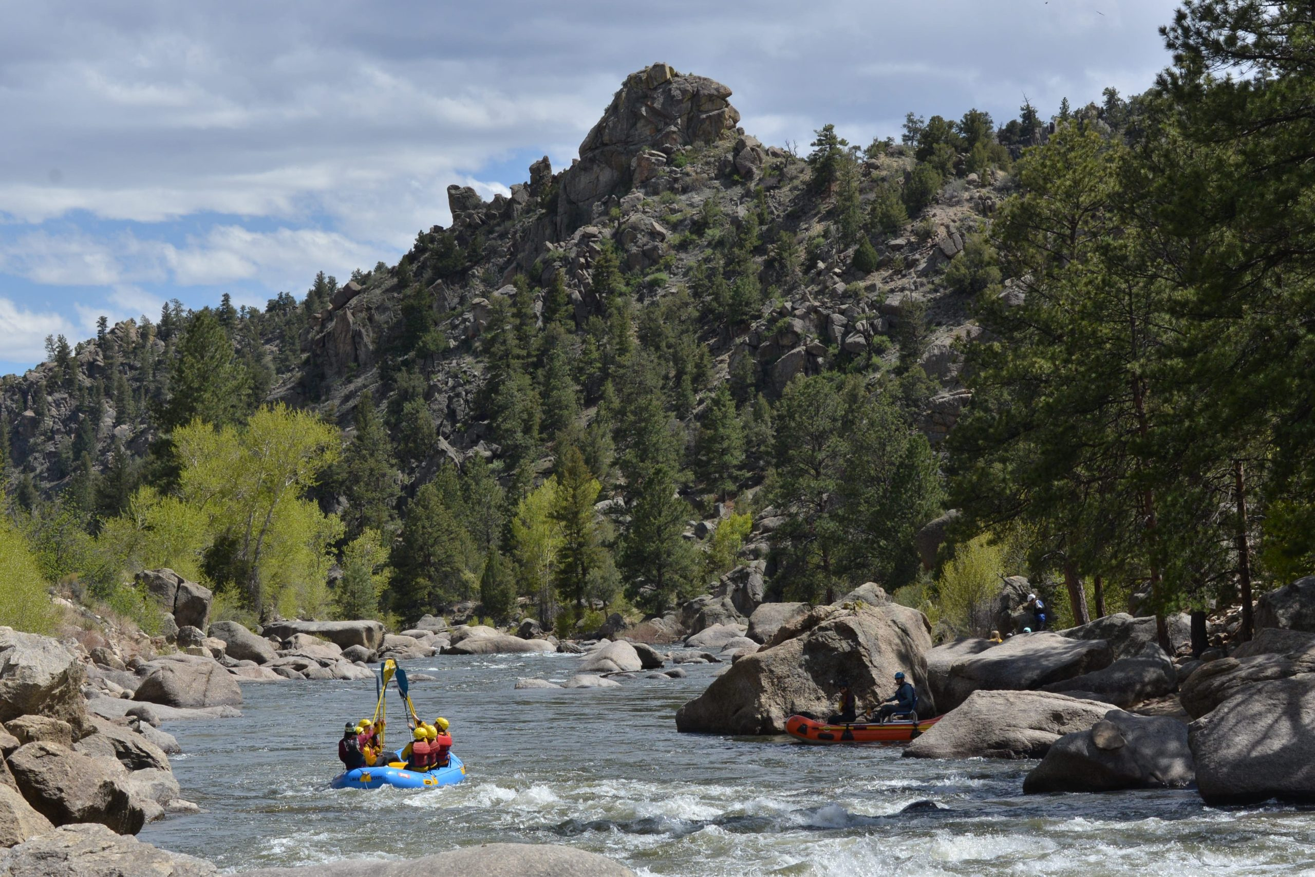 Browns Canyon National Monument Arkansas River rafting