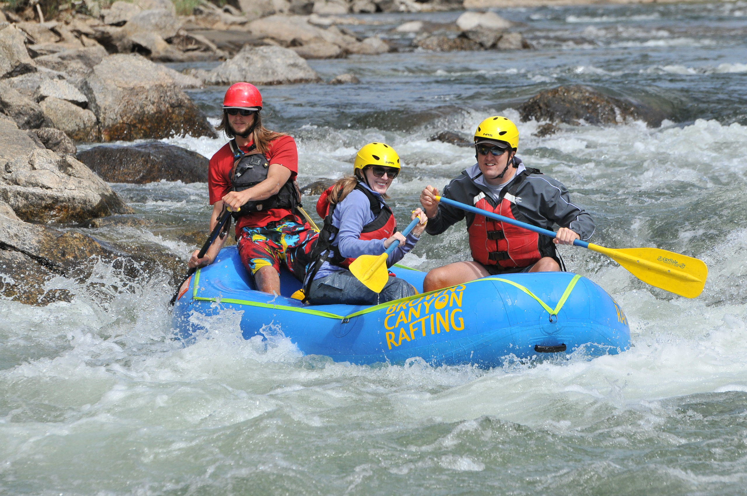 mini raft arkansas river rafting