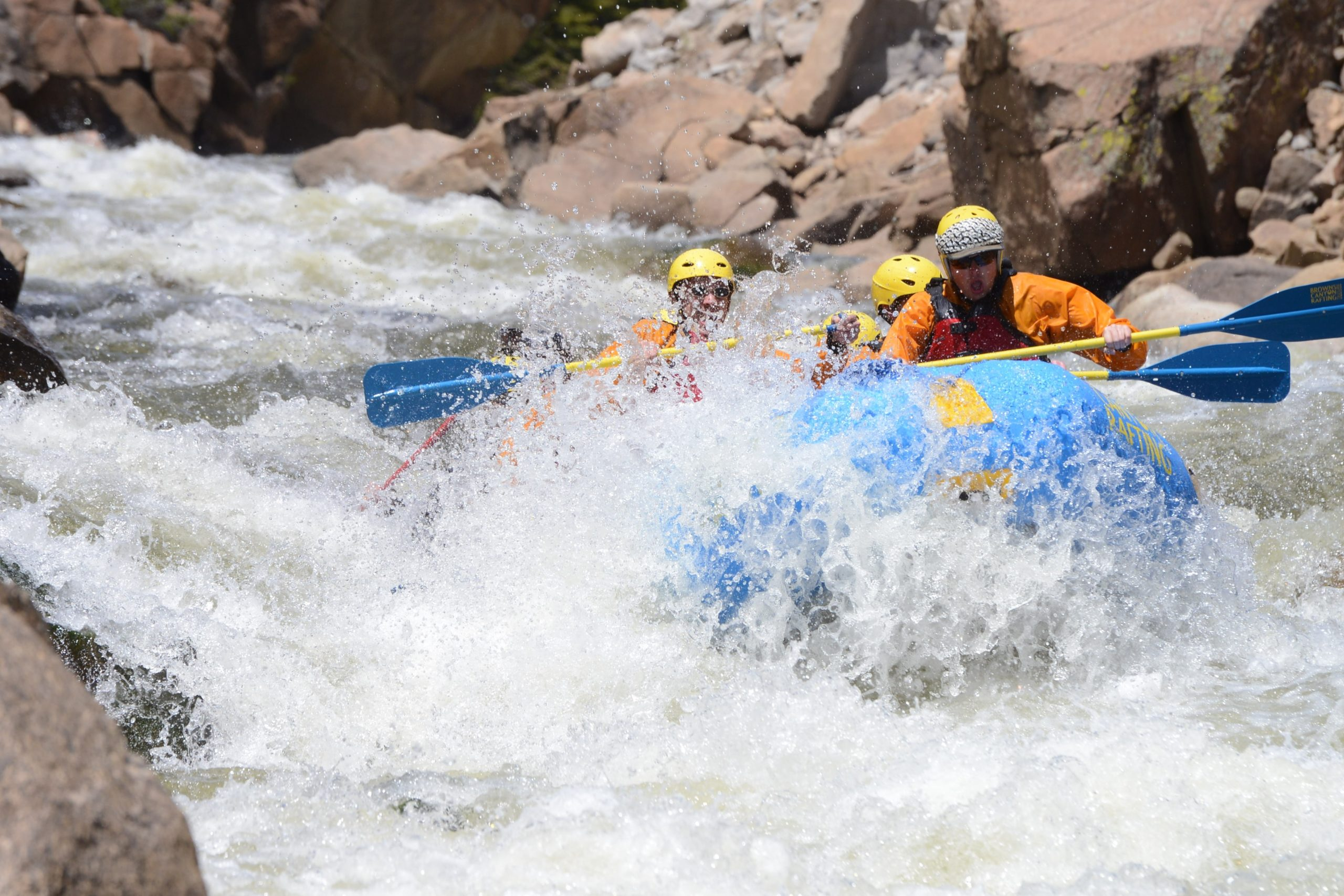 advanced colorado rafting near denver