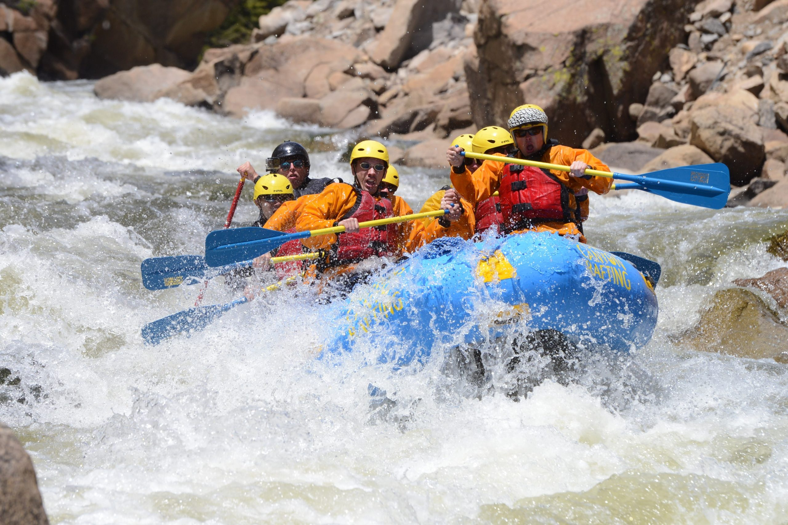 class five rafting colorado