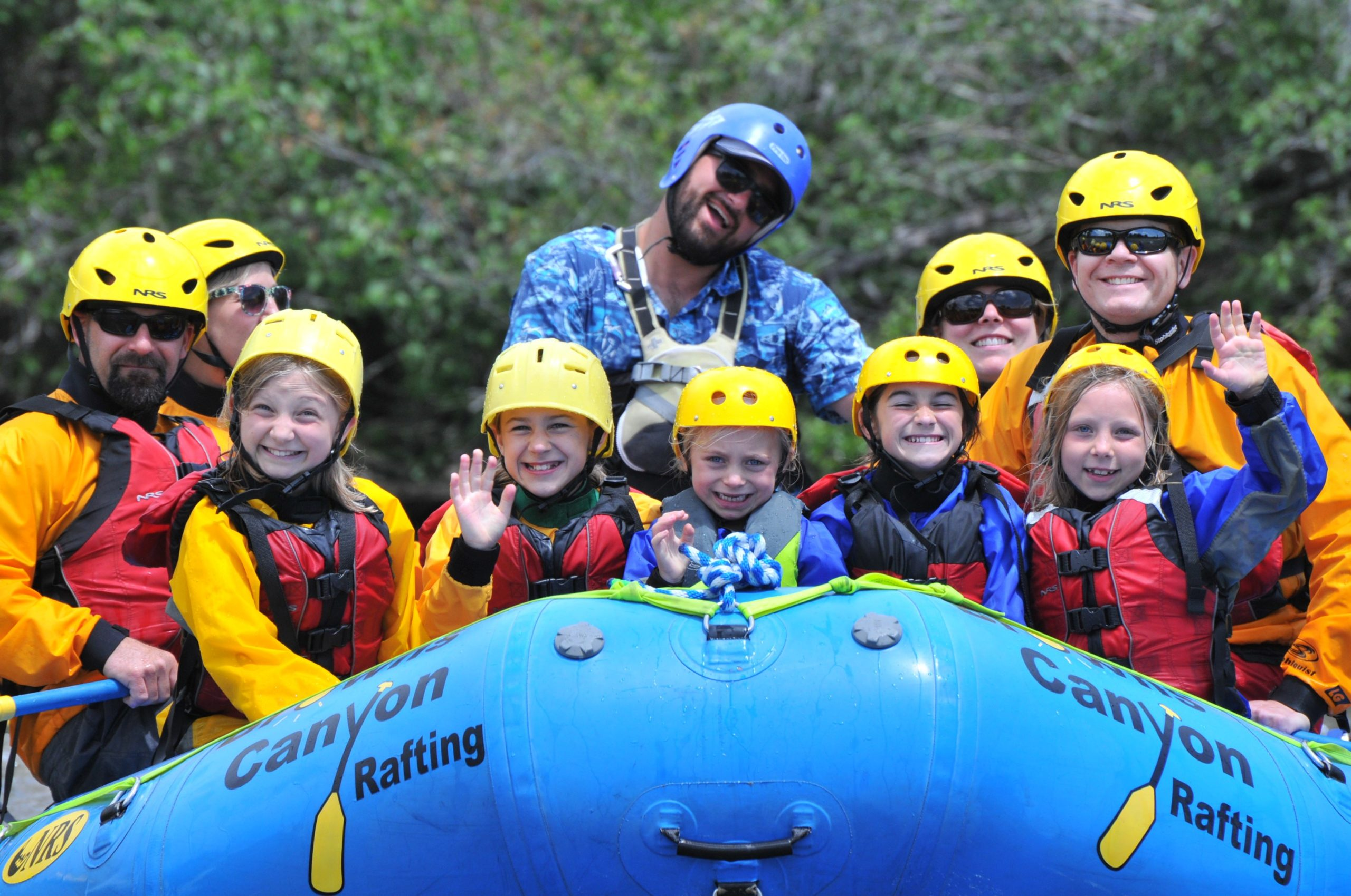 Colorado beginner rafting trips