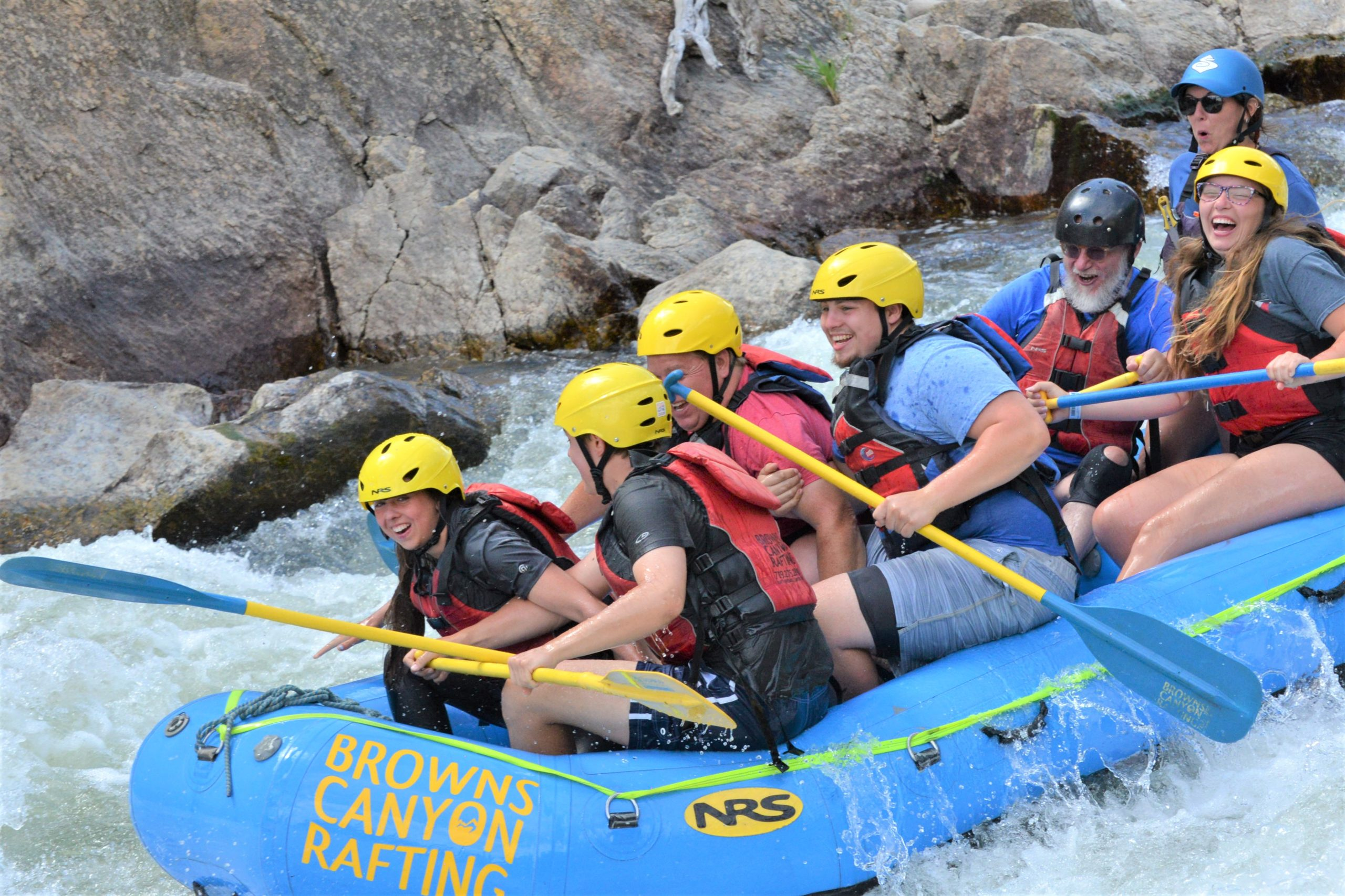 Arkansas River rafting Buena Vista Colorado