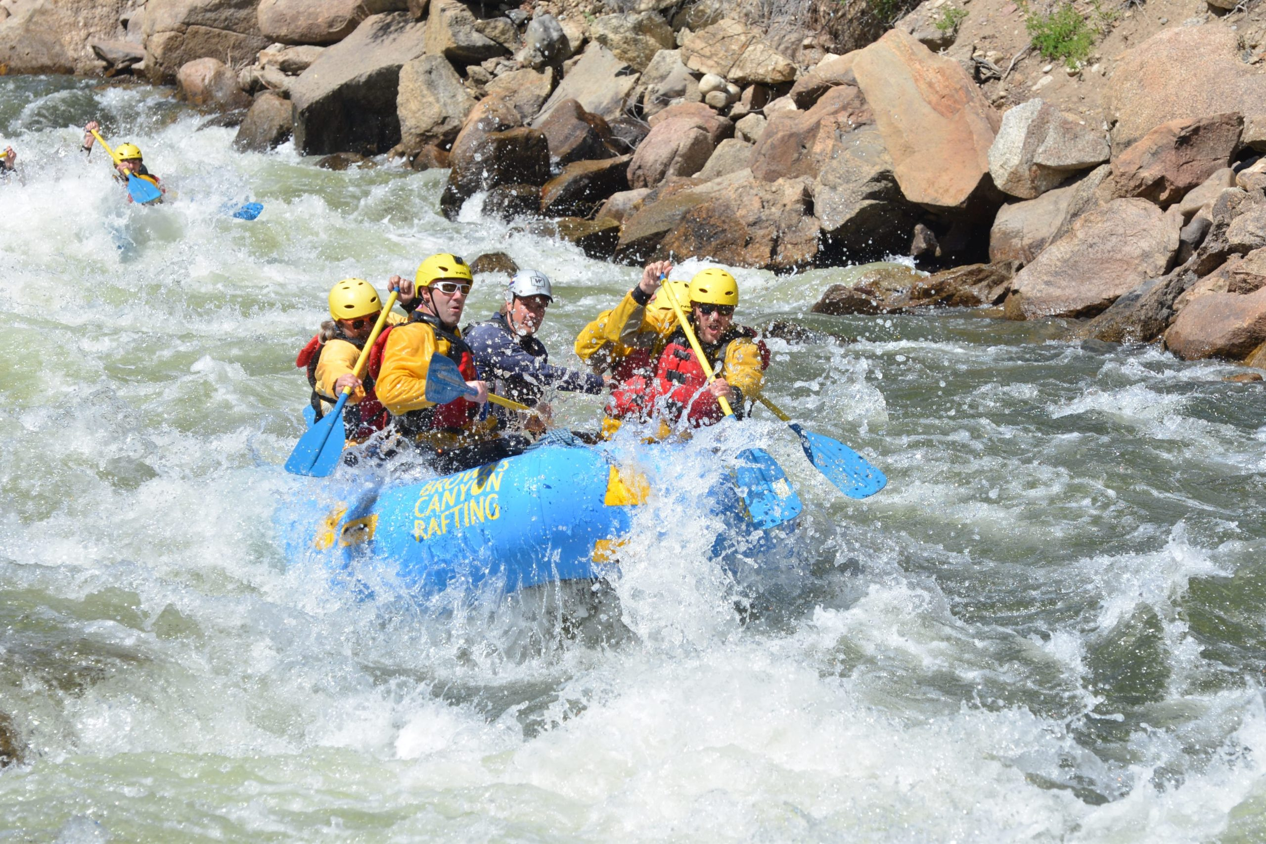 colorado rafting Arkansas River near buena vista co