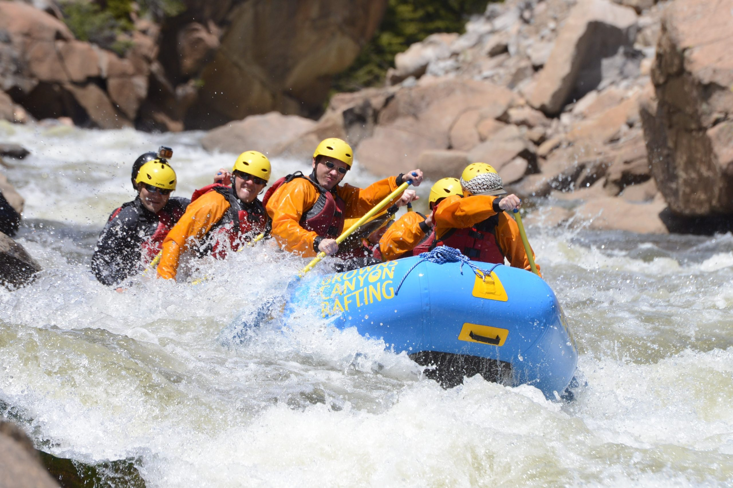 colorado whitewater rafting near buena vista