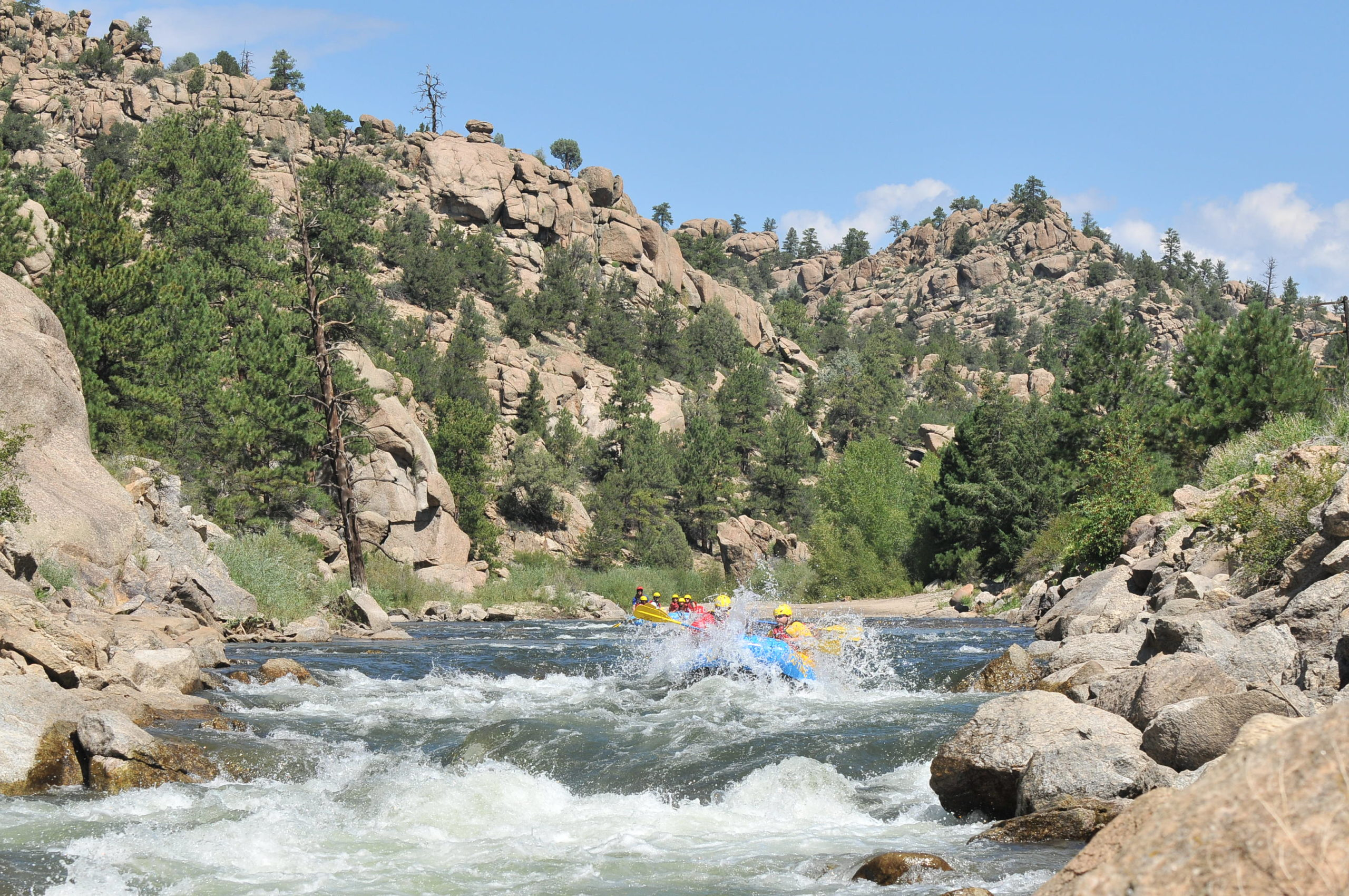 Colorado white water rafting browns canyon arkansas river