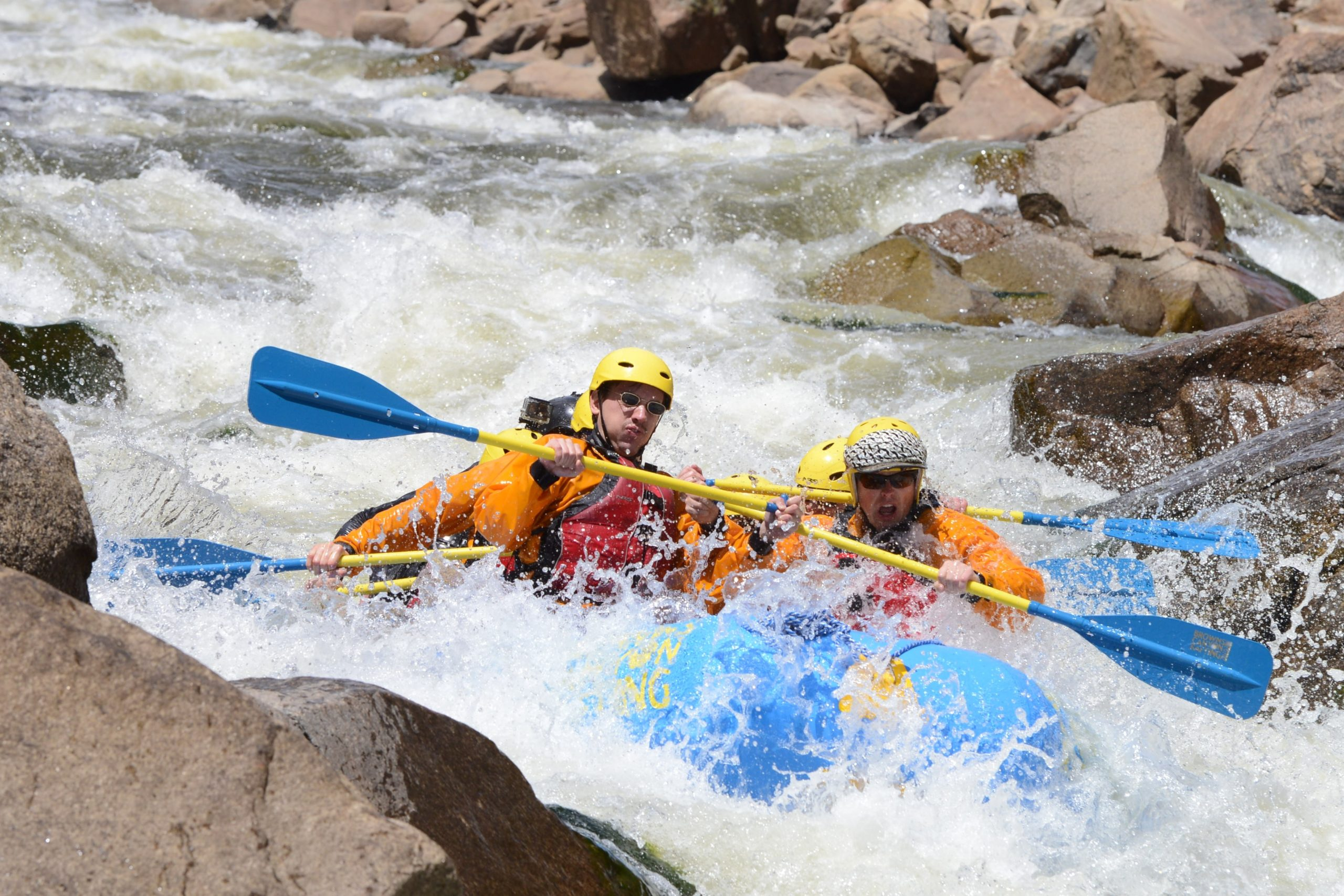 class V colorado white water rafting