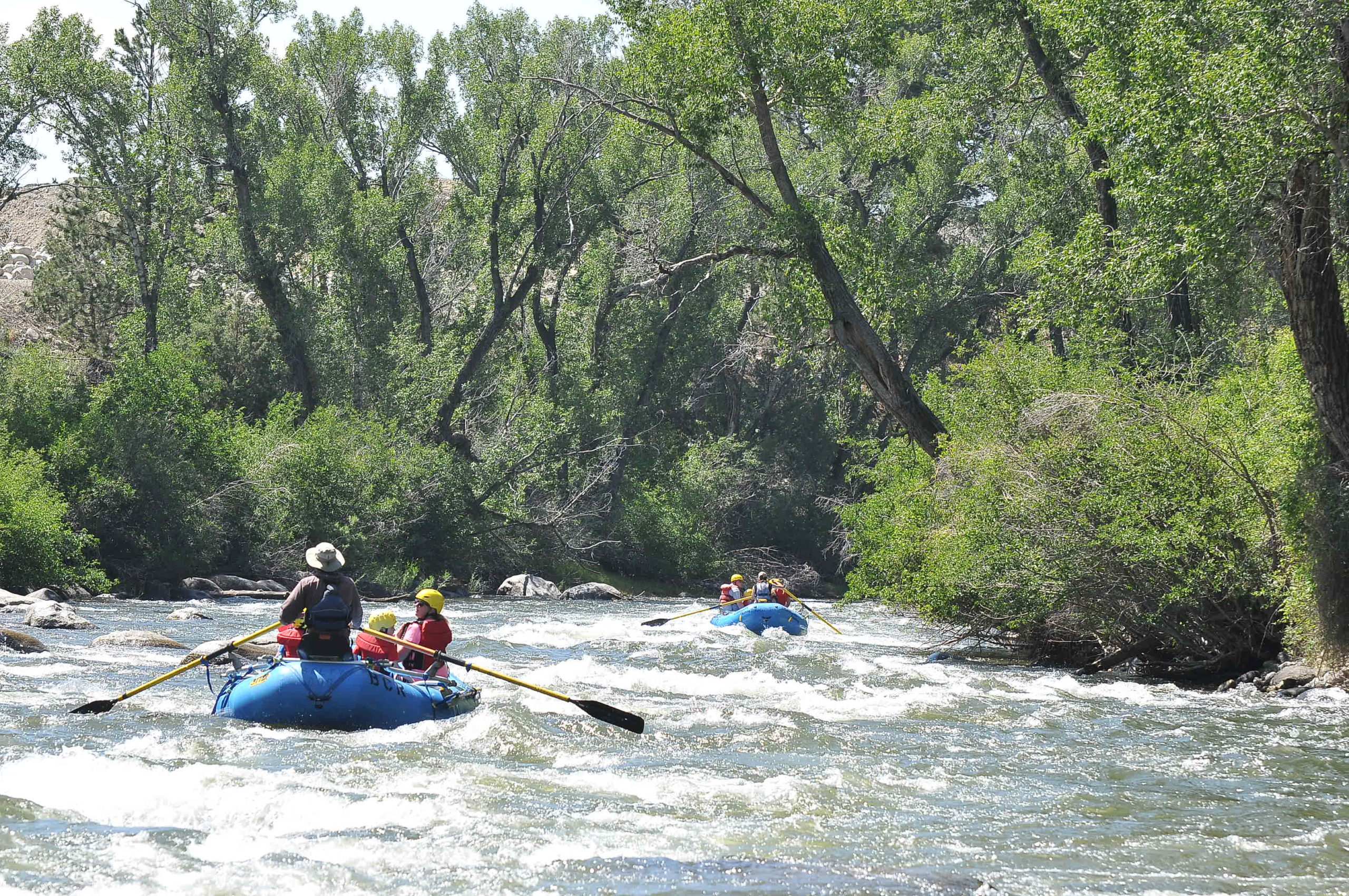 buena vista colorado family friendly rafting