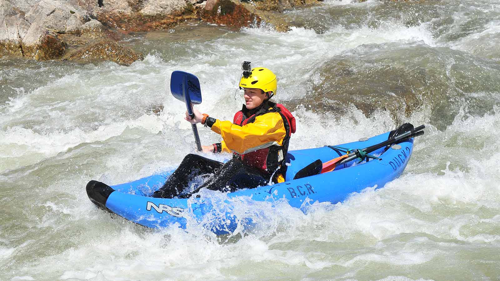 kayaking browns canyon arkansas river colorado