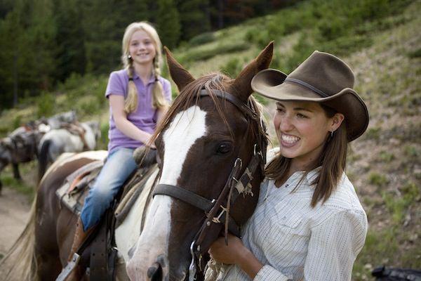 Buena Vista Colorado horseback rides