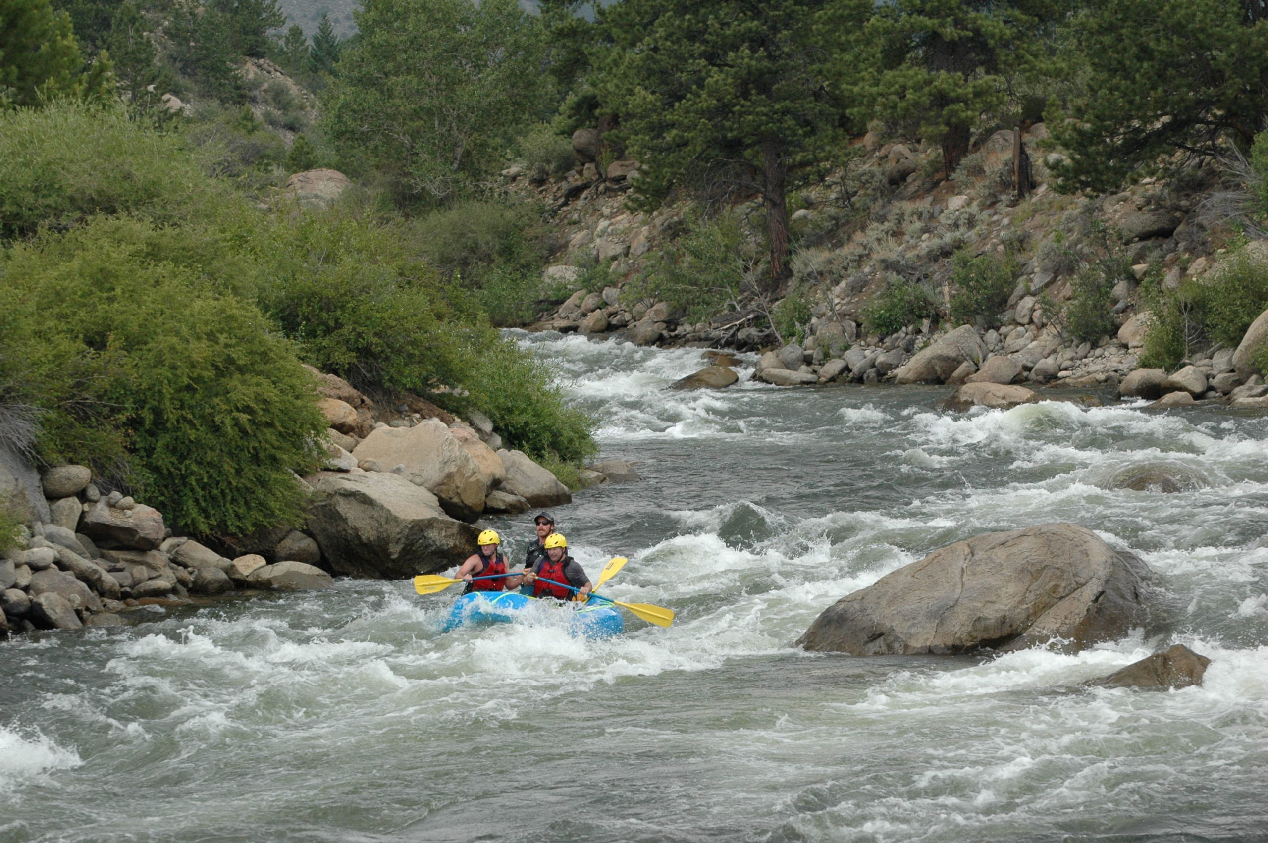 Numbers Arkansas river colorado mini raft