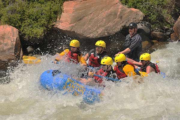 intermediatewhite water rafting colorado