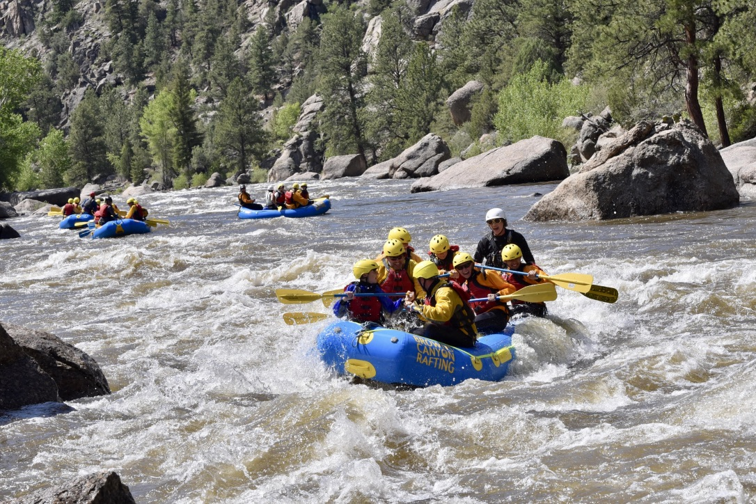 Arkansas River Browns Canyon colorado rafting