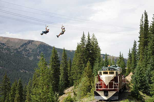 Colorado zip line tours buena vista